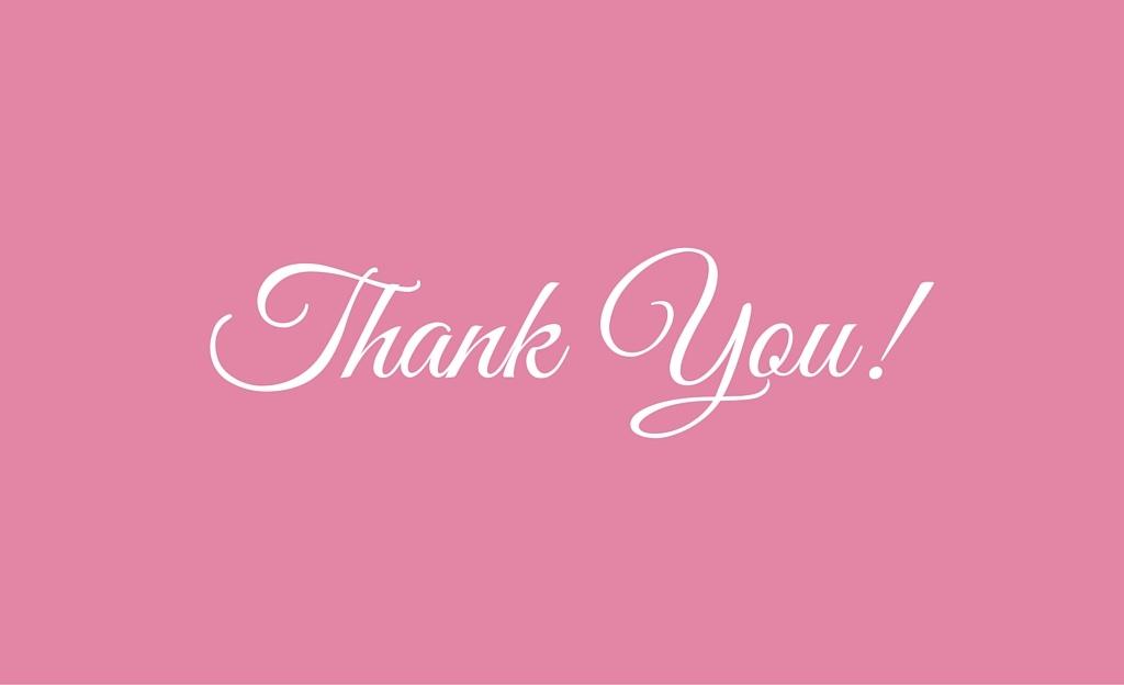 Thank you - Gfs